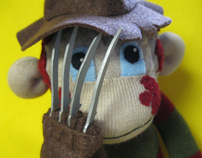 Freddy Krueger Sock Monkey