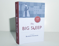 """The Big Sleep"" Book Cover"