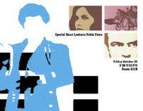 Pablo Ferro Lecture Poster