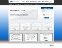 Personal Loans Service Provider Web Design Template