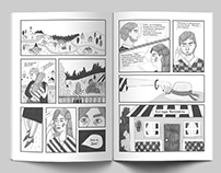 Comics book by the story of Agatha Christie