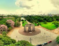 Sinalização e Mobiliário Urbano do Parque Farroupilha