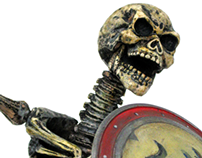 Skeleton Warrior 1:6 Figure Go Hero