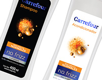 Carrefour. Shampoo & Conditioner NO FRIZZ
