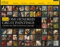 The National Gallery 100 Greatest Paintings Website