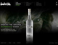 Babicka Vodka Website