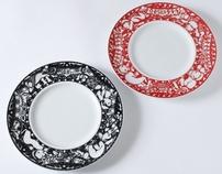 saji: plate design
