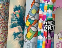 VECTORIAL POSTERS | street art