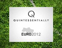 Euro 2012 for Quintessentially - webdesign