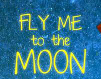 Mobile Interface | Fly me to the moon