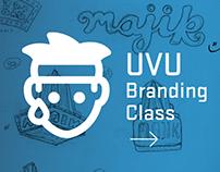 UVU Student Branding Work