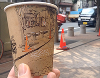 Coffee Cup Panorama Videos