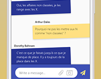 Daily UI Challenge #013 : Direct Messaging