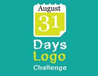 31 days logo challenge (August)