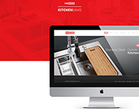 Ukinox Kitchen & Sink Systems Web Design
