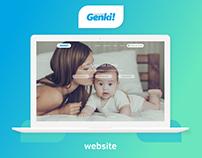 Genki - ecommerce web site
