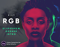 RGB - Slideshow | Opener | Intro | After Effects Templ