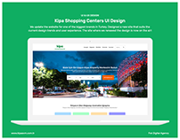Kipa Shopping Centers UI&UX Design