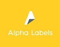 Alpha Labels Branding