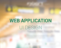 Forex Web Application UI Visual Design