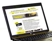 Gebelstaplerbatterie Center web site
