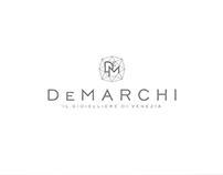 """De Marchi """"Il Gioielliere di Venezia"""" Brand Id/brochure"""
