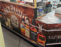 Jack Daniel's Counter Wrap