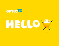 Optus Rebrand Launch Presentation