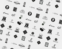 selection of logo/signs for portfolio