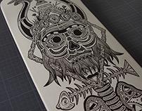 Totem / Custom Skateboard