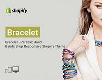 Bracelet – Parallax Hand Bands shop Responsive Shopify