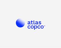 Atlas Copco Rebranding
