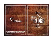 Tarjeta Día del Padre (Holcim Argentina)