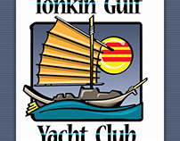 T-shirt design — Tonkin Gulf Yacht Club