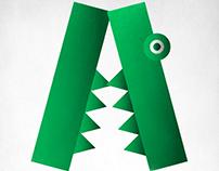 Geometric Animal Alphabet