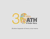 ATH Móvil: 30 años trayendo el futuro a tus manos