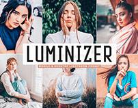 Free Luminizer Mobile & Desktop Lightroom Preset