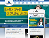 Carroll Community College Website