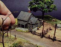 "Wizard of Oz - Diorama. ""There's No Place Like Home"""