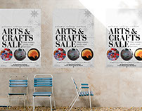 Poster: Winter Arts & Crafts Sale