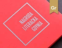Literary Prize Gdynia / branding