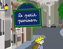 The Little Parisian iPad Kids Book