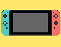 Pure CSS Nintendo Switch