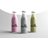 Branding for SERBOMILK