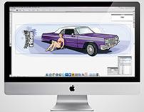 IMPALLA SKATEBOARDS Design skate desky