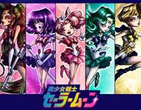 SAILOR MOON - Outer Senshi