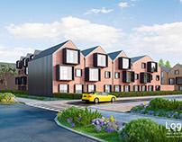 Residential quarter 3D Visualization
