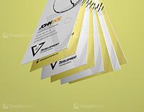 Free Development Creative Business card