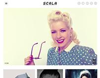Scala creative agency PSD design