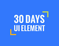 30 days of UI element